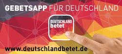 Gebetsapp für Deutschland: deutschlandbetet.de